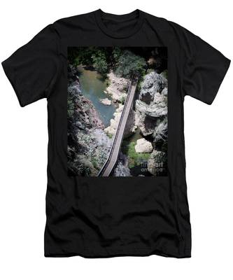 The Foot Bridge Men's T-Shirt (Athletic Fit)