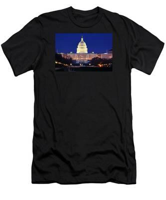 U.s. Capitol Men's T-Shirt (Athletic Fit)