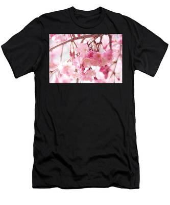 Cherry Blossoms Men's T-Shirt (Athletic Fit)