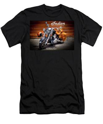 The Indian Motorcycle Men's T-Shirt (Athletic Fit)