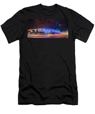 April 2015 - Birmingham Alabama Regions Field Minor League Baseb Men's T-Shirt (Athletic Fit)