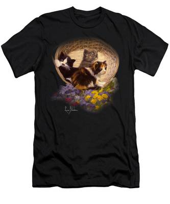 A Basket Of Cuteness Men's T-Shirt (Athletic Fit)