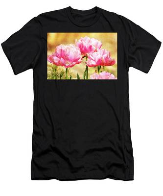 A Bouquet Of Tulips Men's T-Shirt (Athletic Fit)