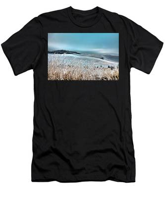 A Frosty Morning On The Palouse Men's T-Shirt (Athletic Fit)