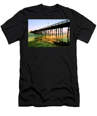 Men's T-Shirt (Athletic Fit) featuring the photograph A Perfect Place by Howard Bagley