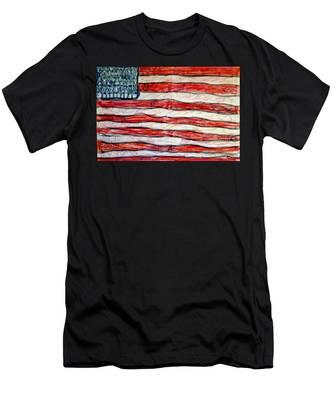 American Social Men's T-Shirt (Athletic Fit)