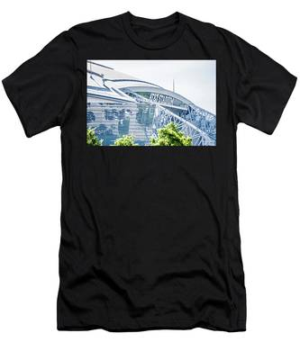 April 2017 Arlington Texas Att Nfl Cowboys Football Stadium  Men's T-Shirt (Athletic Fit)