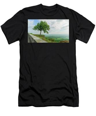 Men's T-Shirt (Athletic Fit) featuring the photograph Arbor Day by Brad Wenskoski