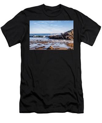 Arroyo Sequit Creek Surf Riders Men's T-Shirt (Athletic Fit)