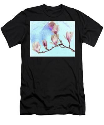 Art Magnolia Men's T-Shirt (Athletic Fit)