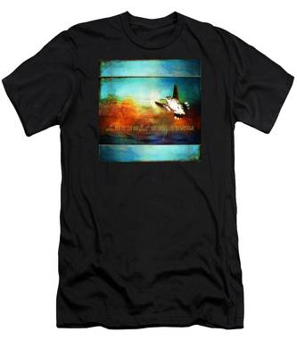 She Built Her Wings Men's T-Shirt (Athletic Fit)