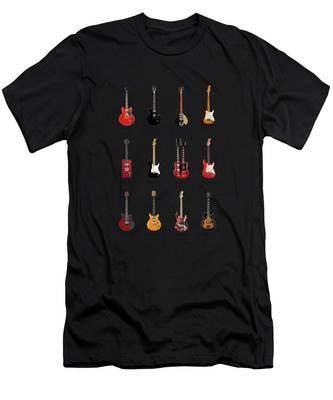 Rock N Roll Music Jimi Hendrix T-Shirts