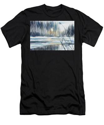 Snow From Yesterday Men's T-Shirt (Athletic Fit)