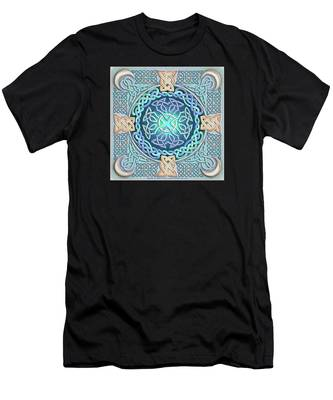 Celtic Eye Of The World Men's T-Shirt (Athletic Fit)