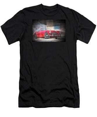 Austin Healey Chalk Study 4 Men's T-Shirt (Athletic Fit)