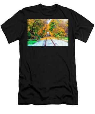Autumn Days Men's T-Shirt (Athletic Fit)