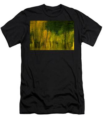 Autumn In Truckee Men's T-Shirt (Athletic Fit)