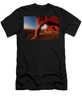 Aztec Butte Men's T-Shirt (Athletic Fit)