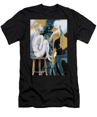 Backstage - Beauties Sharing Secrets Men's T-Shirt (Athletic Fit)
