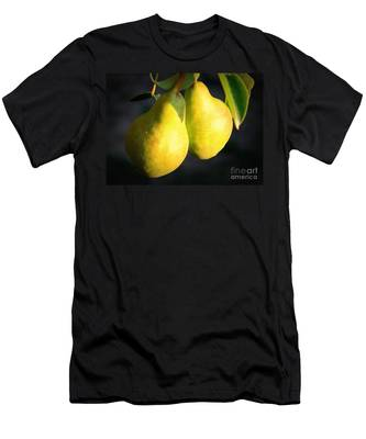 Backyard Garden Series - Two Pears Men's T-Shirt (Athletic Fit)