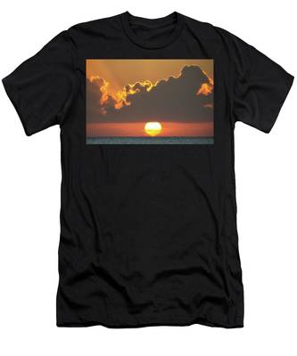 Ball Of Fire Men's T-Shirt (Athletic Fit)