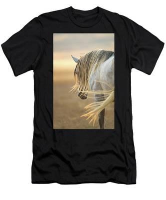 Band Stallion Sunrise Men's T-Shirt (Athletic Fit)