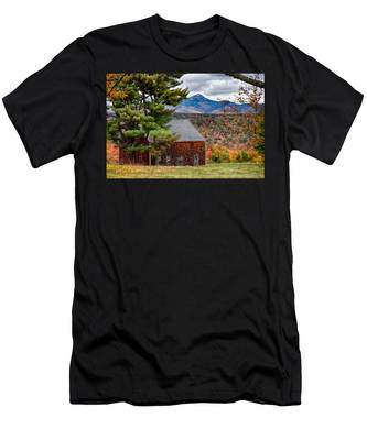 Men's T-Shirt (Athletic Fit) featuring the photograph Barn Number Three by Jeff Folger