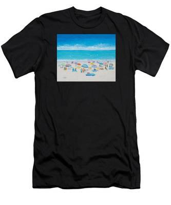 Beach Art - Fun In The Sun Men's T-Shirt (Athletic Fit)