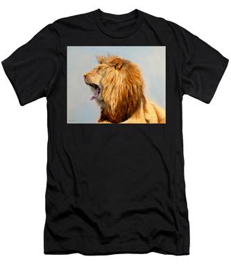 Bed Head - Lion Men's T-Shirt (Athletic Fit)