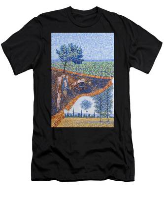 Behind The Canvas Men's T-Shirt (Athletic Fit)