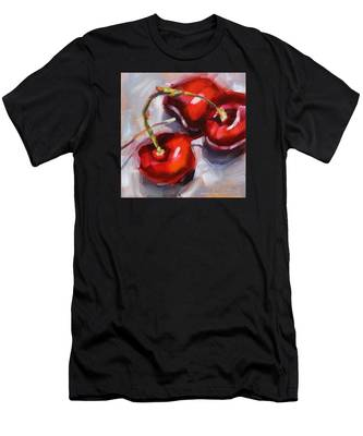 Bing Cherries Men's T-Shirt (Athletic Fit)