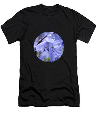 Bluebell Wood By V.kelly Men's T-Shirt (Athletic Fit)