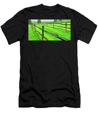 Bridle Trail Men's T-Shirt (Athletic Fit)