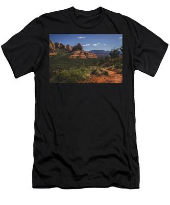 Brins Mesa Trail Vista Men's T-Shirt (Athletic Fit)