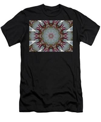 Butterfly Bush Kaleidoscope Men's T-Shirt (Athletic Fit)