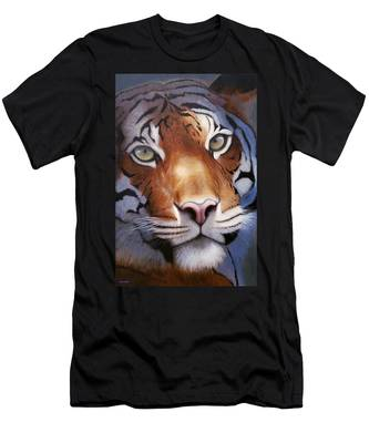 Cat And Mouse Men's T-Shirt (Athletic Fit)