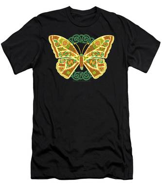 Celtic Butterfly Men's T-Shirt (Athletic Fit)