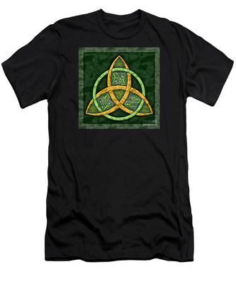 Celtic Trinity Knot Men's T-Shirt (Athletic Fit)