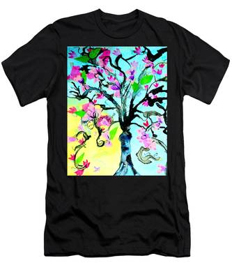 Cherry Blossom Men's T-Shirt (Athletic Fit)
