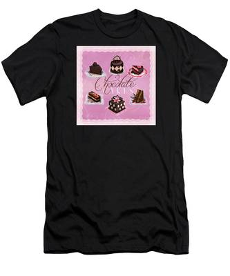 Chocolate Cakes Men's T-Shirt (Athletic Fit)
