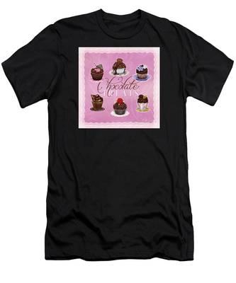 Chocolate Treats Men's T-Shirt (Athletic Fit)
