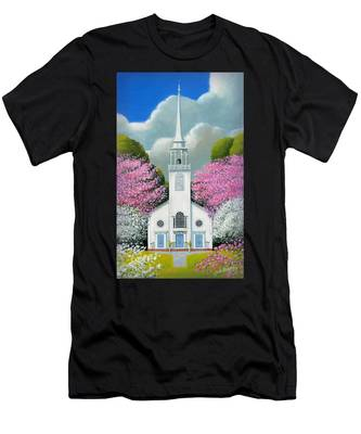 Church Of The Dogwoods Men's T-Shirt (Athletic Fit)