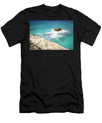 Cliff Views In Negril Men's T-Shirt (Athletic Fit)