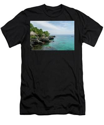 The Cliffs Of Negril Men's T-Shirt (Athletic Fit)