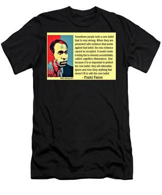 Cognitive Dissonance Frantz Fanon Men's T-Shirt (Athletic Fit)