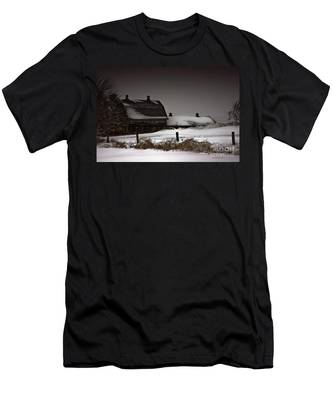Cold Winter Night Men's T-Shirt (Athletic Fit)