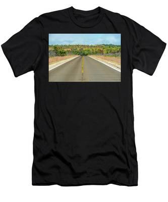 Color At Roads End Men's T-Shirt (Athletic Fit)