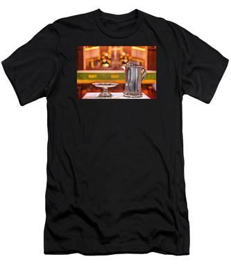 Communion Silver 1800 Men's T-Shirt (Athletic Fit)