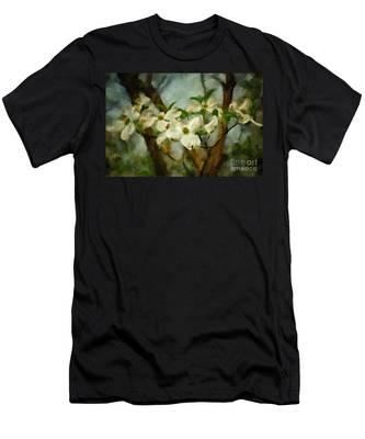 Cool Breeze Painterly Men's T-Shirt (Athletic Fit)