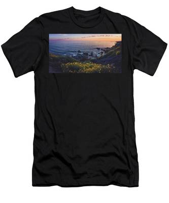 Corona Del Mar Super Bloom Men's T-Shirt (Athletic Fit)